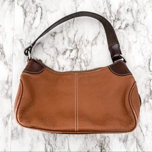 Dooney & Bourke Brown Leather Shoulder Bag